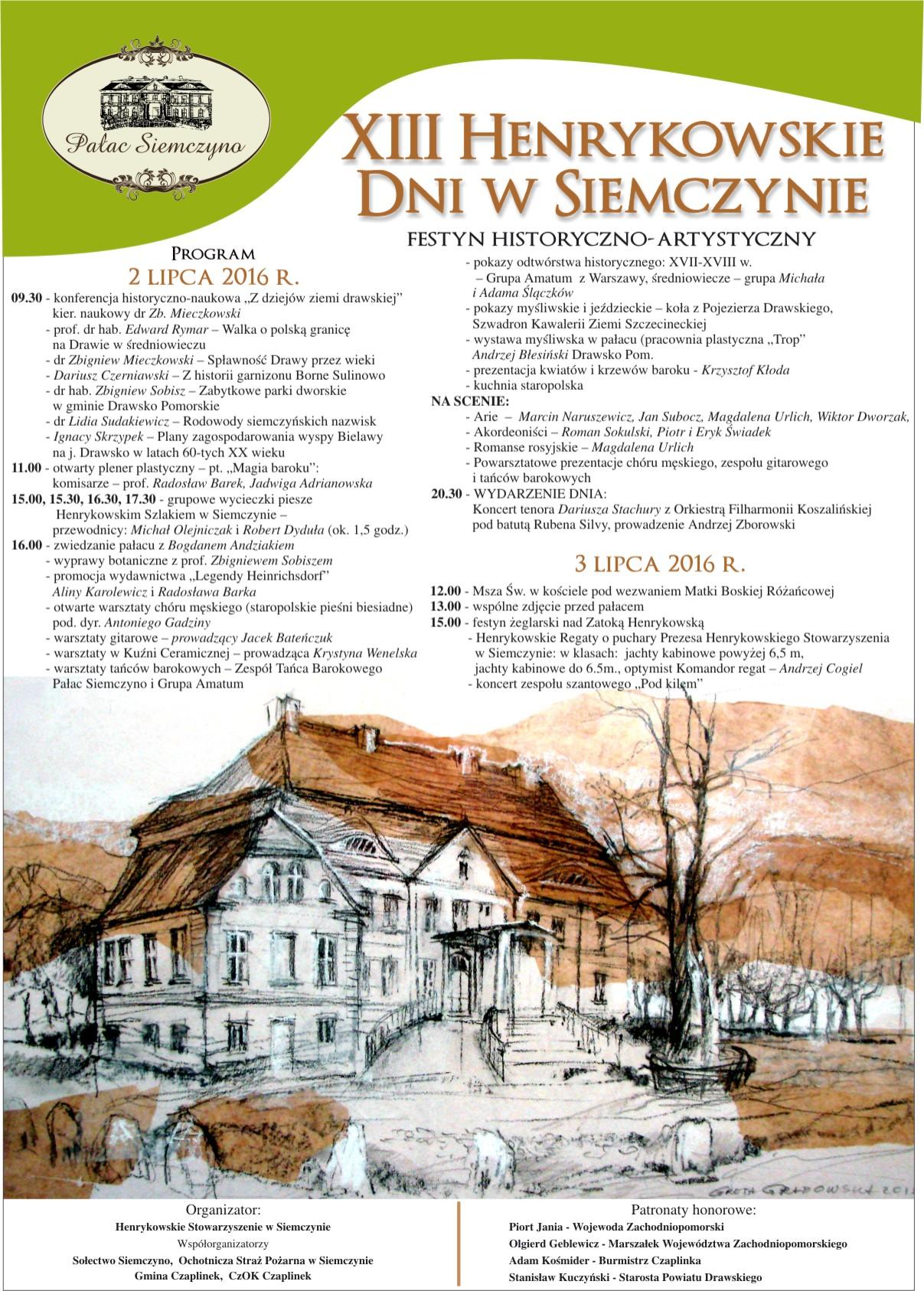 Henrykowskie Dni 2016(1)_plakat